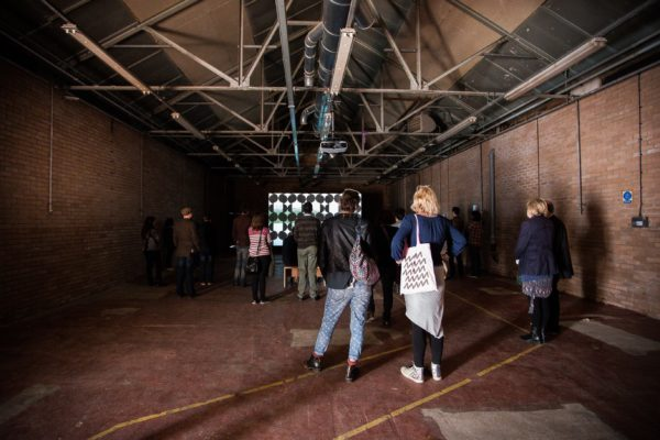 SCAN curators tour for Glasgow International 2014