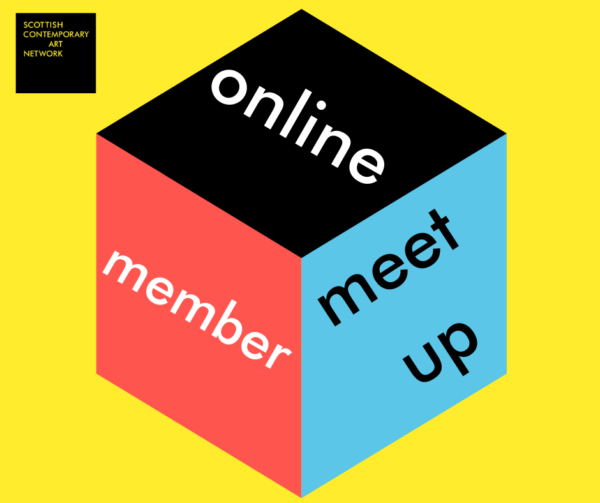 SCAN Online Member Meet Up Graphic